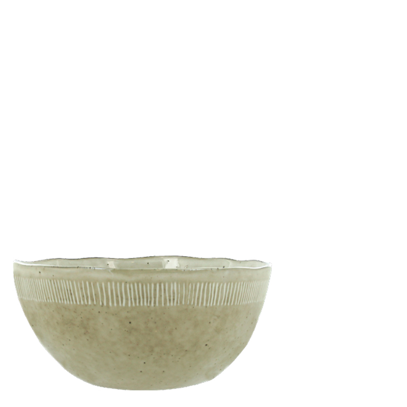 ENZO SERVING BOWL SAND