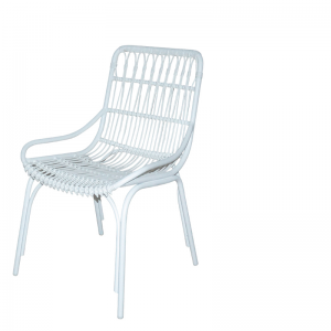 PALM BEACH CITY DINING CHAIR WHITE