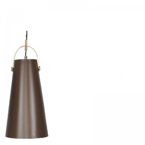 LIA HANGING LAMP BROWN