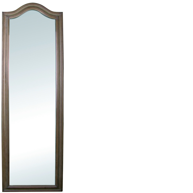 Dressing mirror washed oak lifestyle home collection - Lifestyle home collection ...
