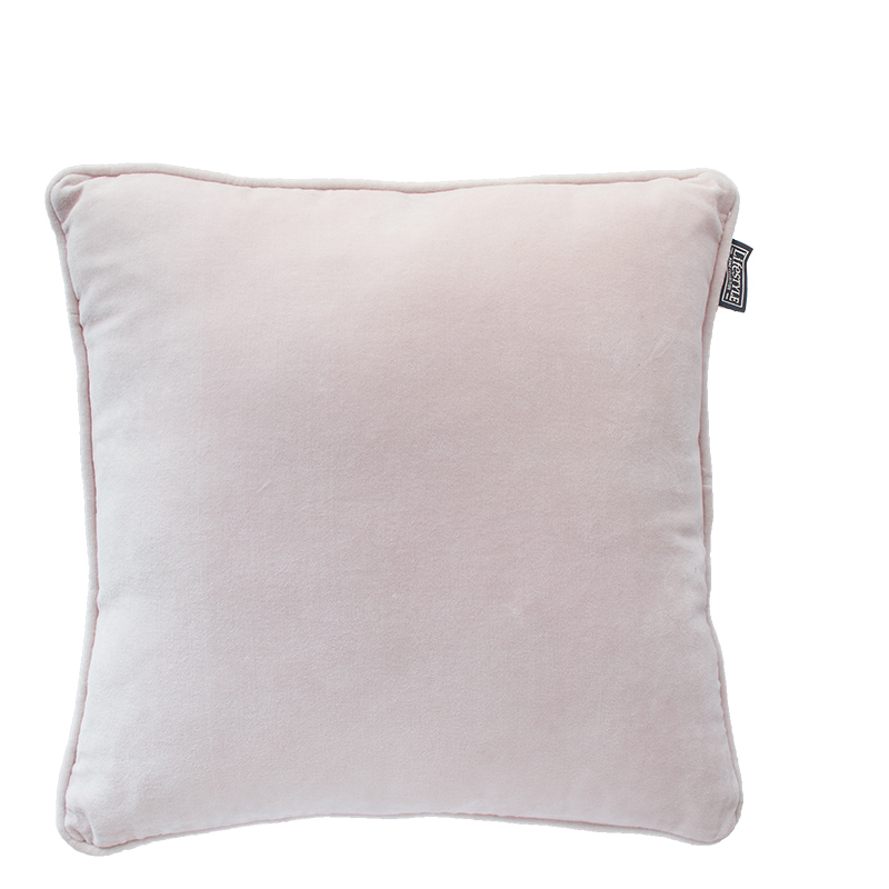 FAYE PILLOW MAUVE CHALK