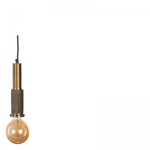 ASIS HANGING LAMP BRASS