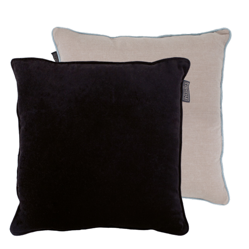 FAYE PILLOW BLACK 50X50