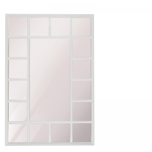 FERNAO MIRROR RECTANGLE WHITE