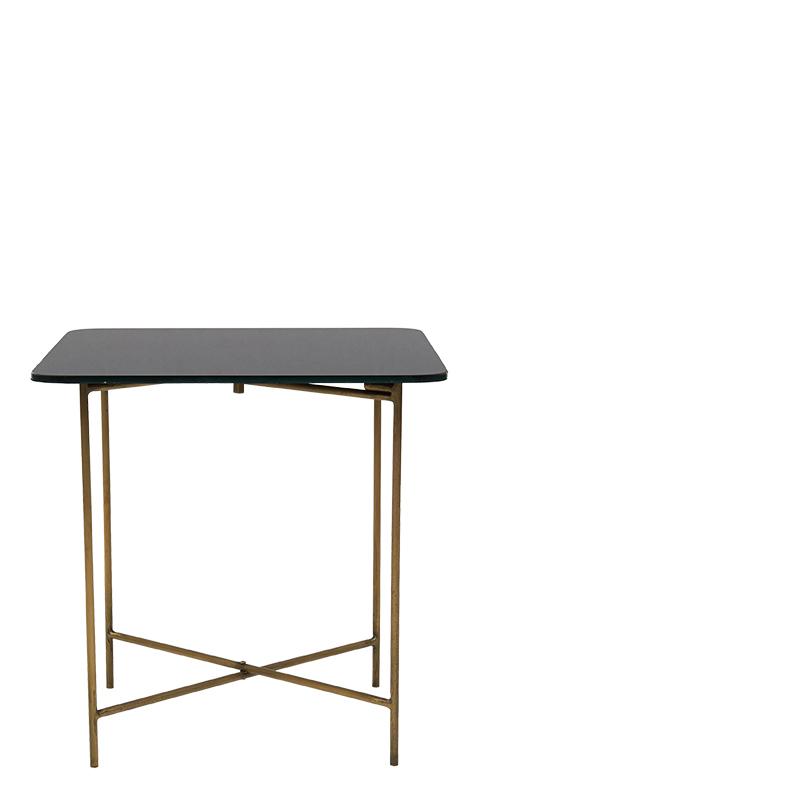 deron coffee table black 45x45x45 lifestyle home. Black Bedroom Furniture Sets. Home Design Ideas