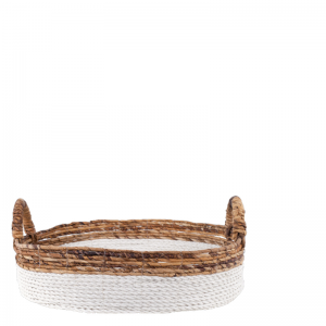 KEYAH BASKET WHITE S