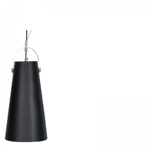 LIA HANGING LAMP BLACK