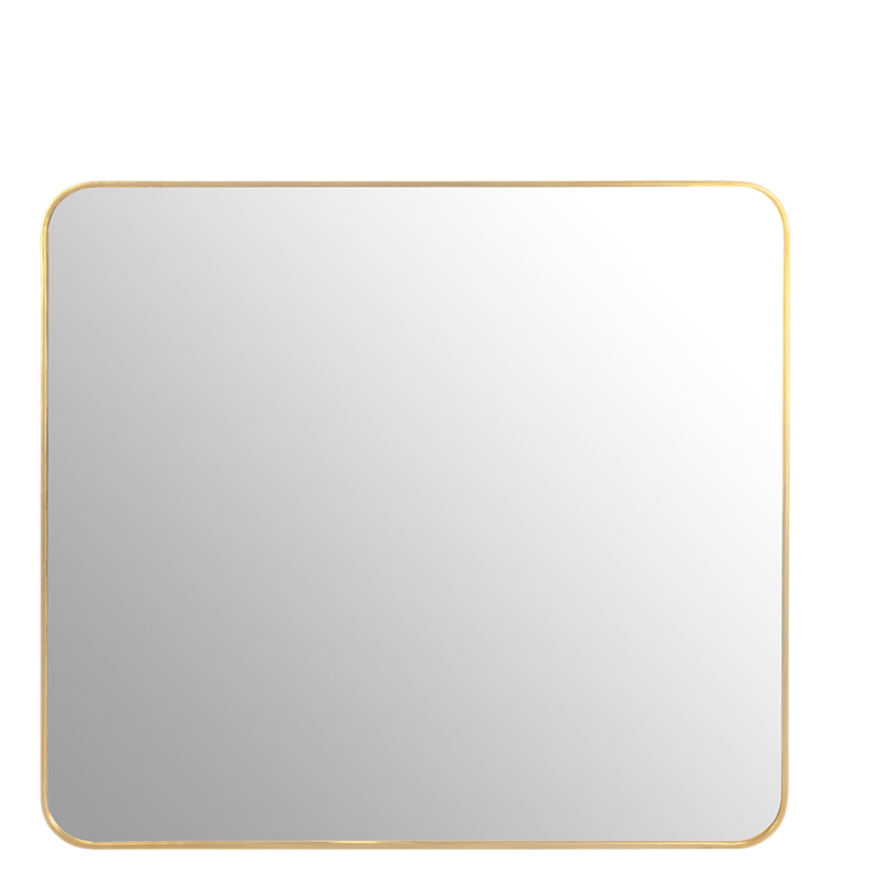 ANTIQUE GOLD LOBBY MIRROR 180X160