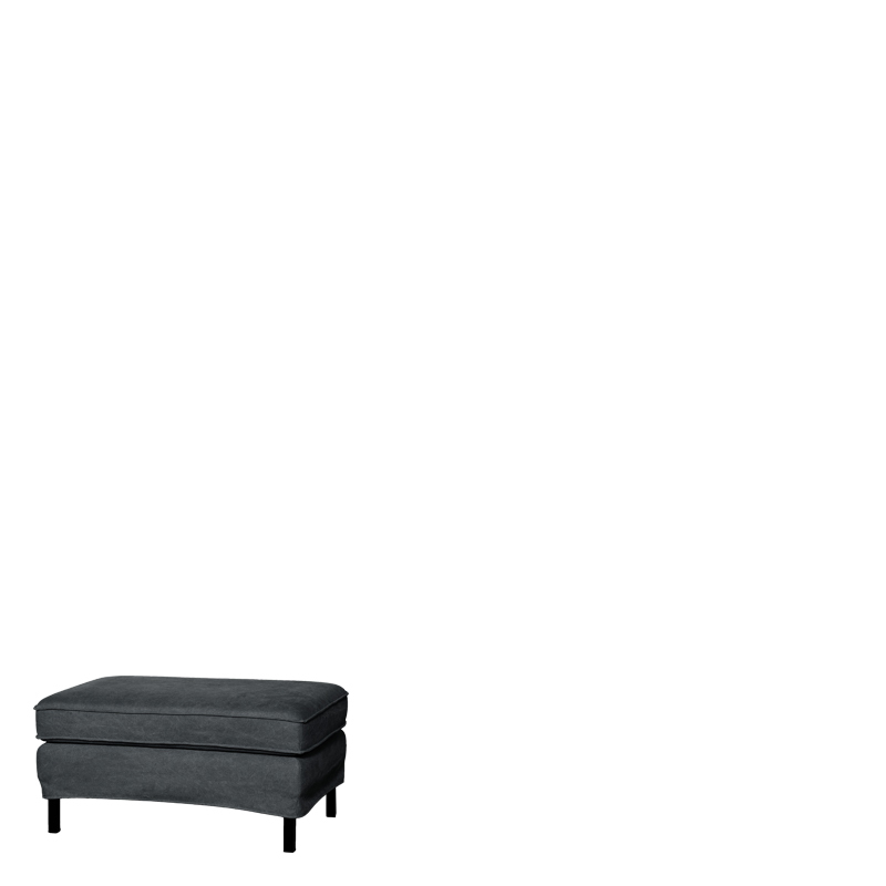 PERUGIA LOOSE COVER HOCKER LAVABO ANTHRACITE