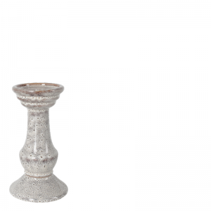 HELENA CANDLE HOLDER WHITE S