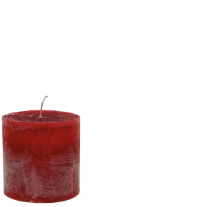 BERT CANDLE 10X10 RED