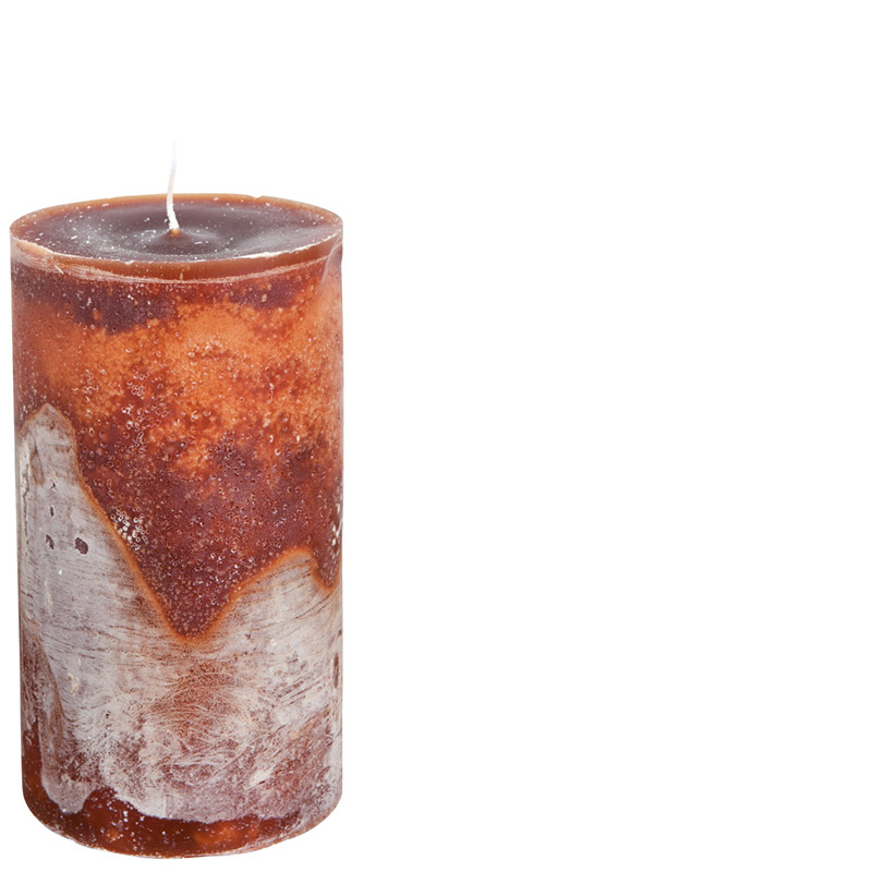 MICHEL CANDLE Ø10X20 COCOABROWN