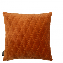 DASCHA PILLOW LEATHER BROWN
