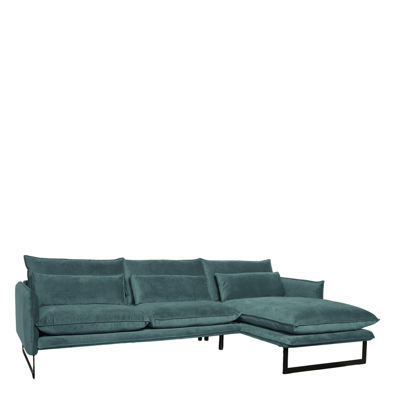 MILAN LOUNGE SOFA RIGHT SEVEN EUCALYPTUS