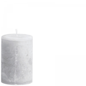 LUDO CANDLE Ø10X15 GREY