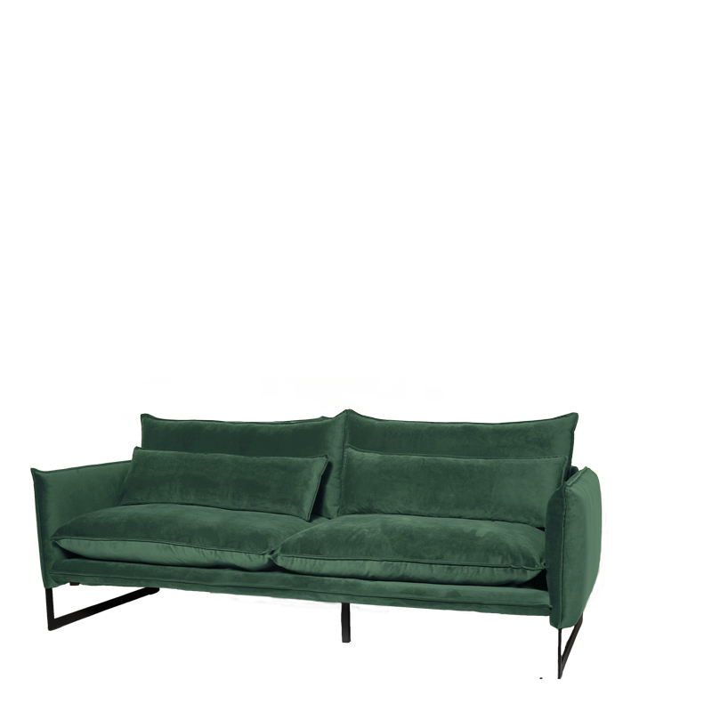 MILAN SOFA 3 SEAT SEVEN FOREST GREE 162 B-220/H-88/D-100