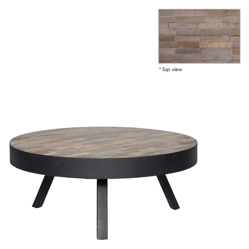 MICHAEL ROUND COFFEE TABLE Ø-74/H-31
