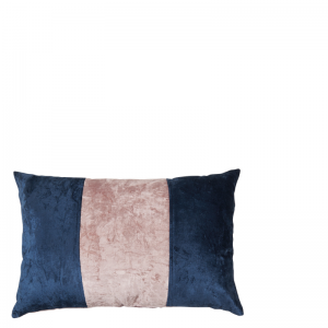 AZORE PILLOW DARK BLUE 60X40