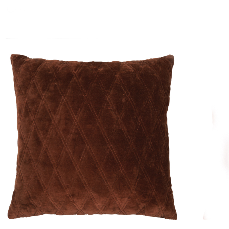 DASCHA PILLOW CHOCOLATE 50X50