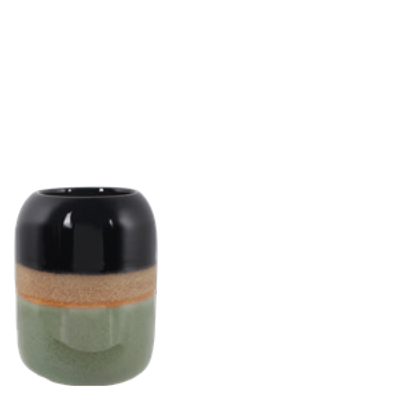 LEYTON CANDLE HOLDER GREEN S