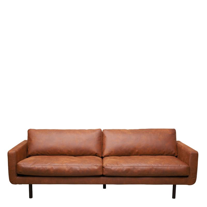 genua sofa colorado cognac lifestyle home collection. Black Bedroom Furniture Sets. Home Design Ideas