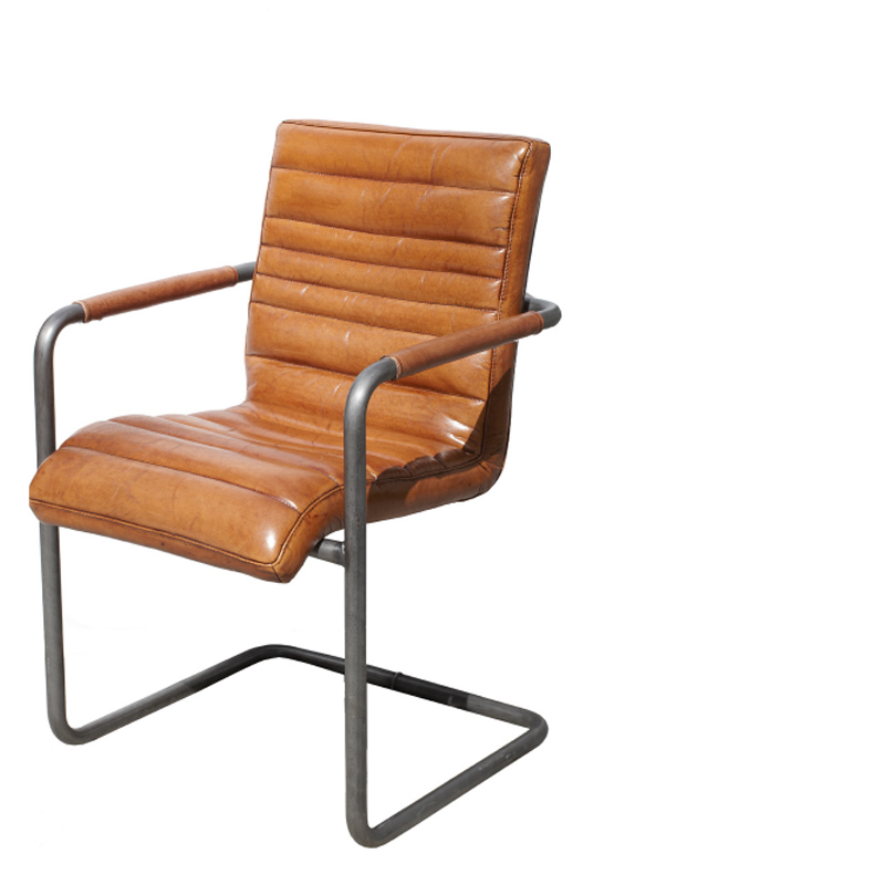 CHICAGO SWING ARMCHAIR BROWN W-55/D-61/H-85