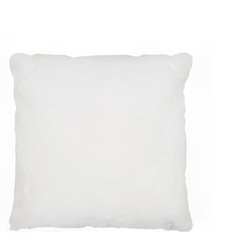 LYALL FUR PILLOW WHITE