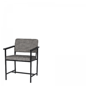 ATKINSON DINING ARMCHAIR GREY