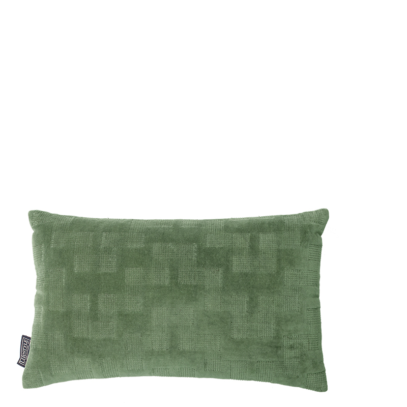 ISABELLA PILLOW OIL GREEN 50X30 CM L-50/W-30