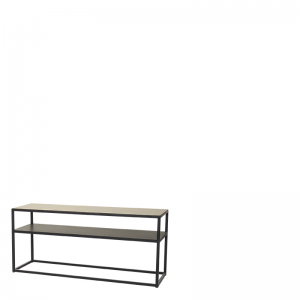 HOLLYWOOD SOFA TABLE BRASS 90X30X40