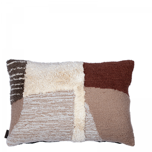 HUDSON PILLOW BROWN 60X40 CM L-60/W-40