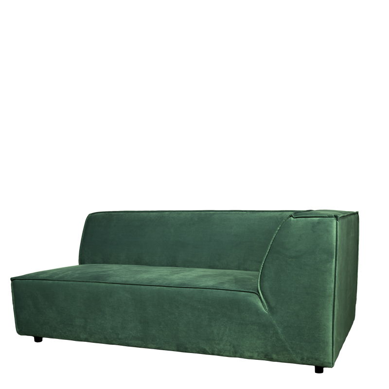BELLARIA 2,5 SEAT ARM RIGHT SEVEN FOREST GREEN 162 B-173/H-73/D-95