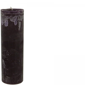 RONALD CANDLE Ø7X25 PURPLE