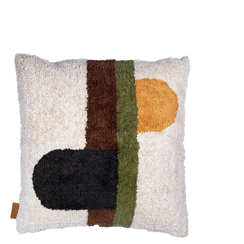 AURELIA PILLOW OIL YELLOW 50X50 CM