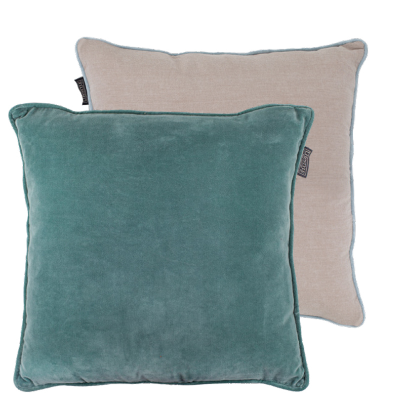 FAYE PILLOW GRANITE GREEN 50X50