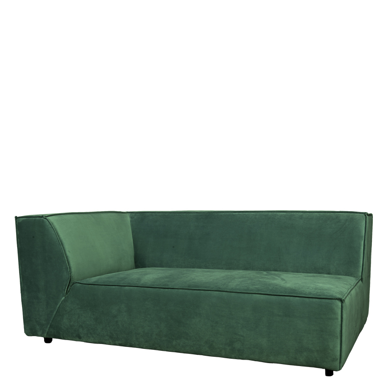 BELLARIA 2,5 SEAT ARM LEFT SEVEN FOREST GREEN 162 B-173/H-73/D-95