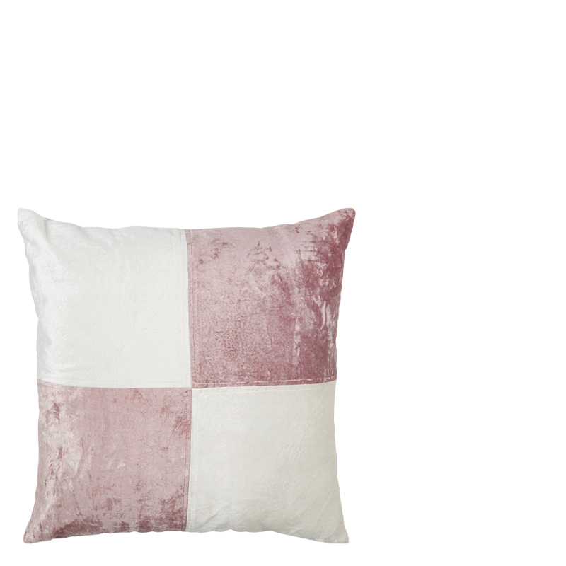 AZORE PILLOW PINK 50X50