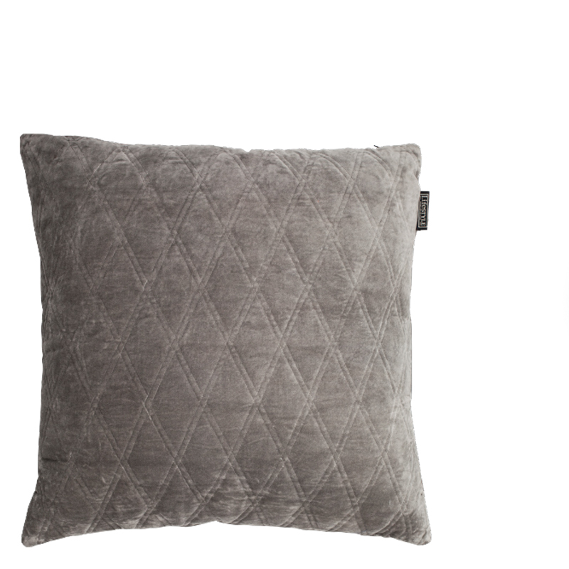 DASCHA PILLOW ANTIQUE GREY 50X50