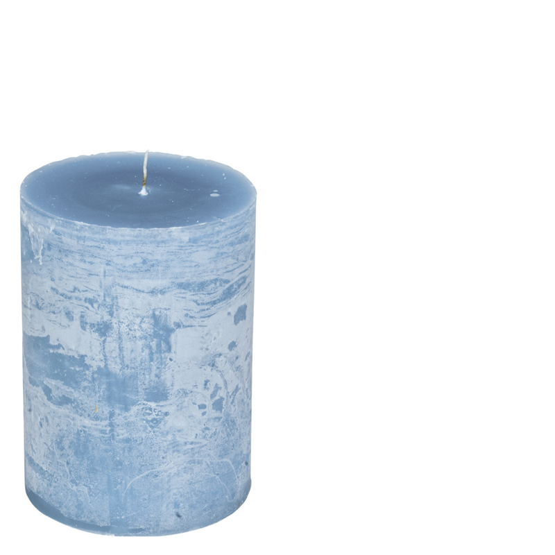 LUDO CANDLE Ø10X15 MAJORBLUE