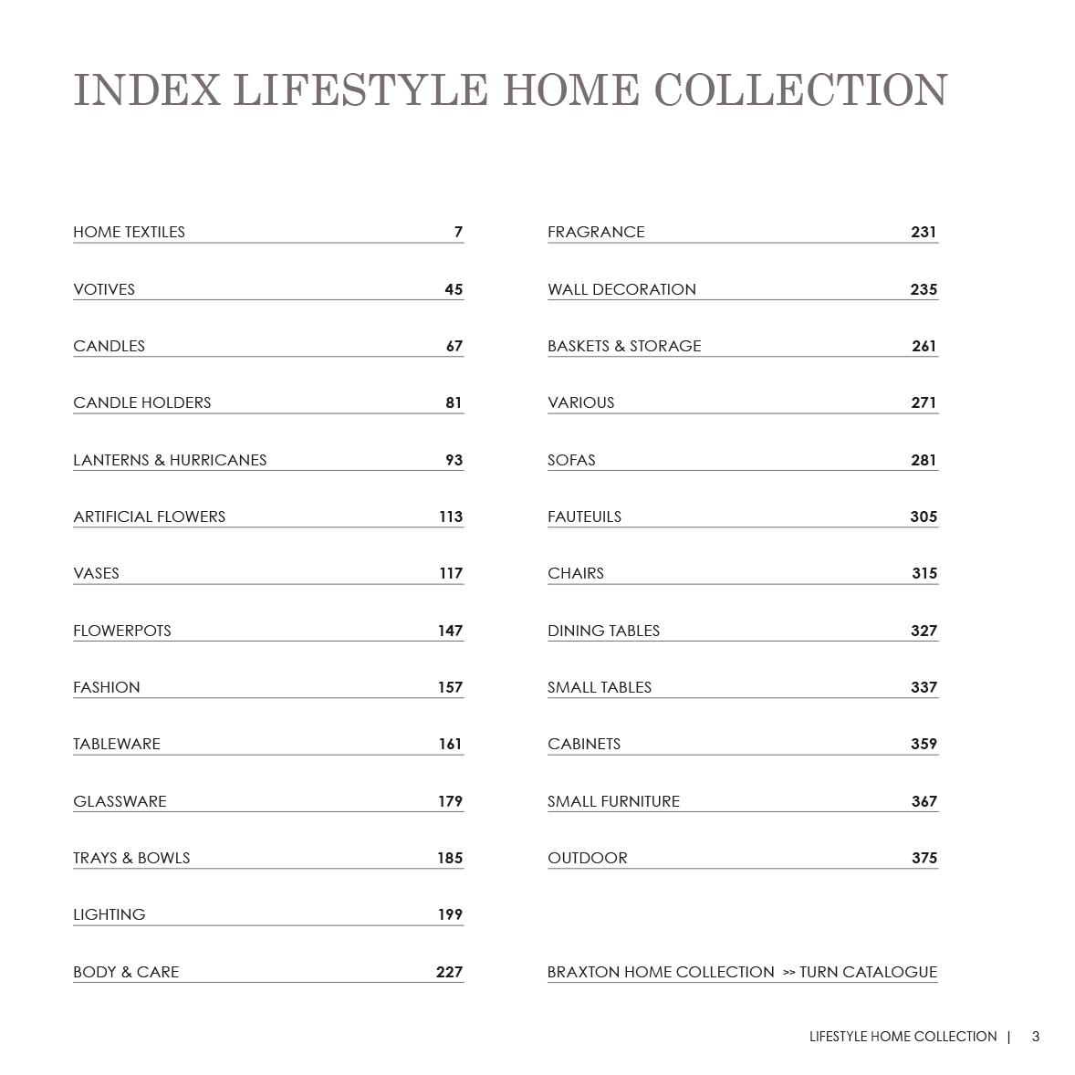 Lifestyle catalogus winter lifestyle home collection - Lifestyle home collection ...