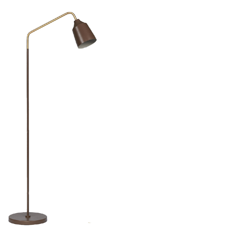 BIANCA FLOOR LAMP BROWN