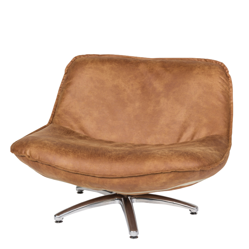 FORLI FAUTEUIL COUNTRY SILVER LEG BROWN 3 B-94/H-68/D-85