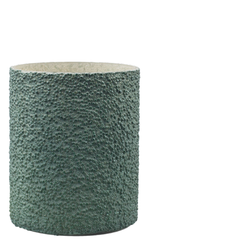 LARI VOTIVE DARK GREEN L