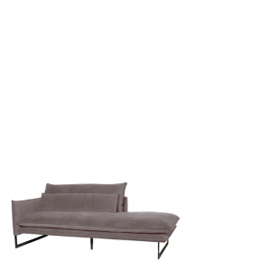 MILAN DAYBED LEFT SEVEN GREY