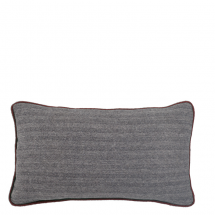 HERRINGBONE PILLOW PURPLE 50X30
