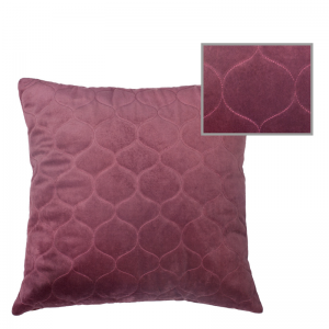 LERAINE PILLOW ROAN ROUGE 50X50