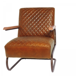 EDWARD SWING ARMCHAIR COLOMBIA BROW