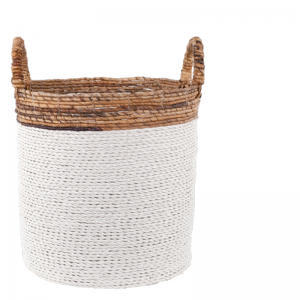 IYABO BASKET WHITE L