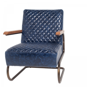 EDWARD SWING ARMCHAIR BLUE