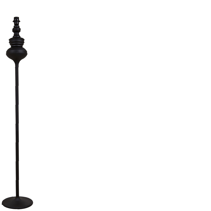LAMPBASE FLOOR BLACK ROUND FOOT Ø30X140